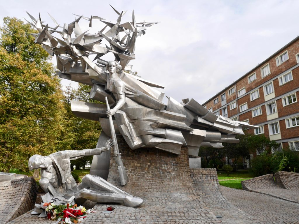 The Monument to the Defenders of the Polish Post Office
