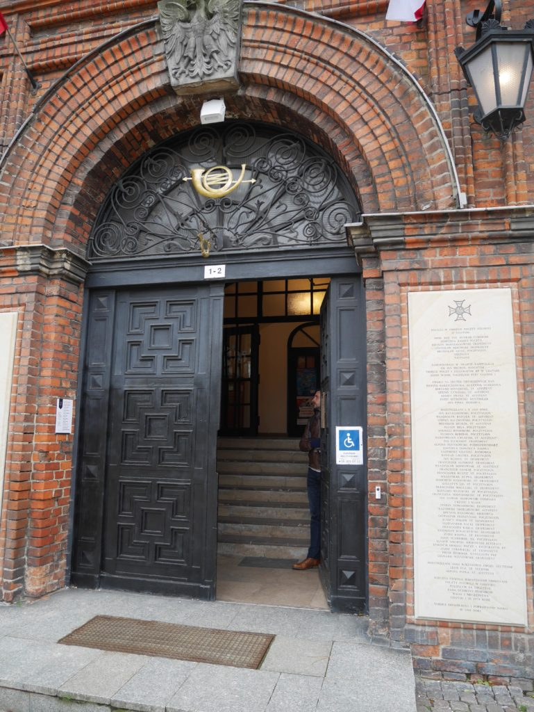 The 'Access' to the Post Office Museum